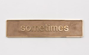 Sometimes by Darren Almond contemporary artwork