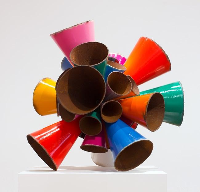 Polychrome Pipe Burst by James Angus contemporary artwork