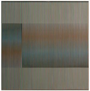 physichromie 1125 by Carlos Cruz-Diez contemporary artwork