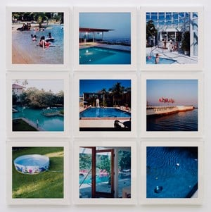 NINE SWIMMING POOLS by Takashi Homma contemporary artwork