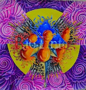 Small Uranium by eX de Medici contemporary artwork