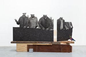 La Revolución del Maíz by Daniel Otero Torres contemporary artwork works on paper, sculpture, drawing