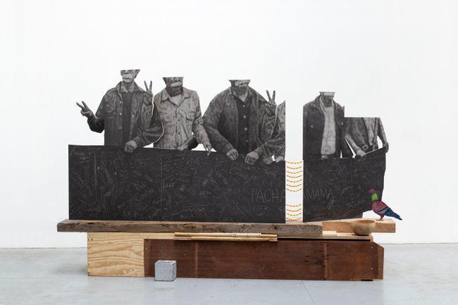 La Revolución del Maíz by Daniel Otero Torres contemporary artwork
