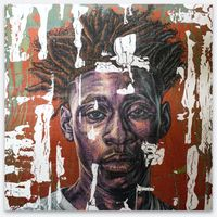 Kia II by Alfred Conteh contemporary artwork painting