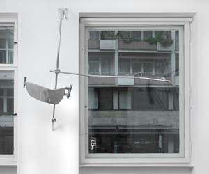 Scruff of the Neck (Stopgap)! by Nairy Baghramian contemporary artwork