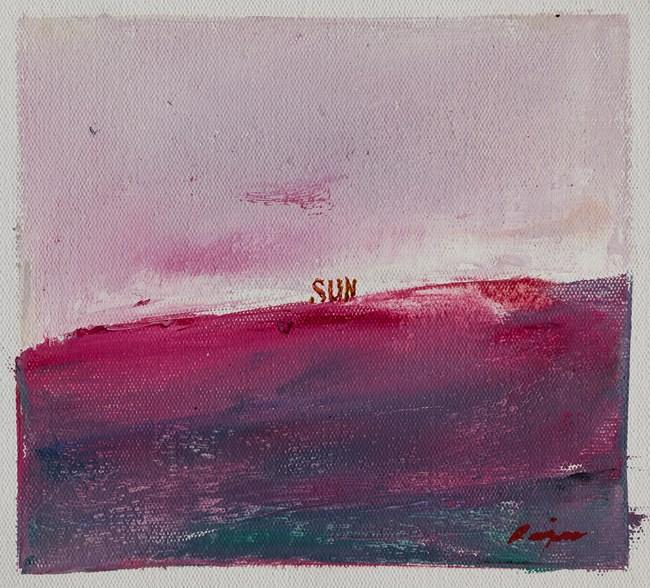 Sunset by C. K. Rajan contemporary artwork