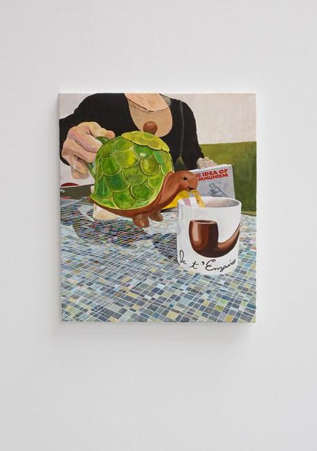 Je t' Empire by Justin Lieberman contemporary artwork