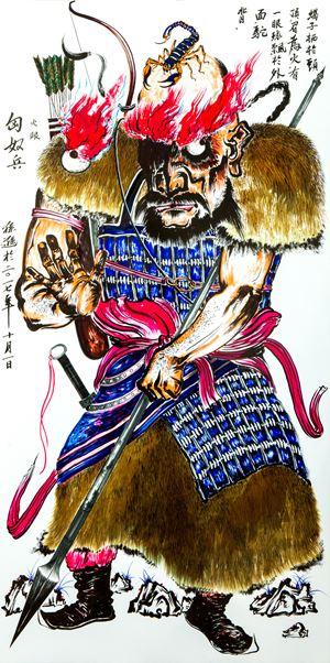 Film Characters Design - FireEye by Sun Xun contemporary artwork