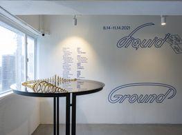 """Group Exhibition<br><em>Liquid Ground</em><br><span class=""""oc-gallery"""">Para Site</span>"""