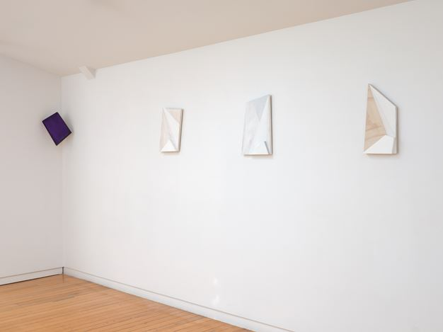 Exhibition view: James Ross, Constructed Forms - After Mondrian, Two Rooms, Auckland (27 November–23 December 2020).Courtesy Two Rooms, Auckland.