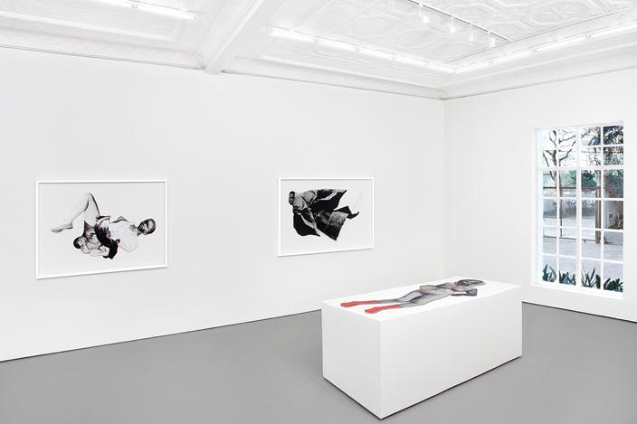 Exhibition view: Frida Orupabo,Hours After, Stevenson, Johannesburg (17 October–14 November 2020). Courtesy Stevenson.