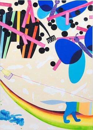F-Park (Caparol) by Marcus Weber contemporary artwork