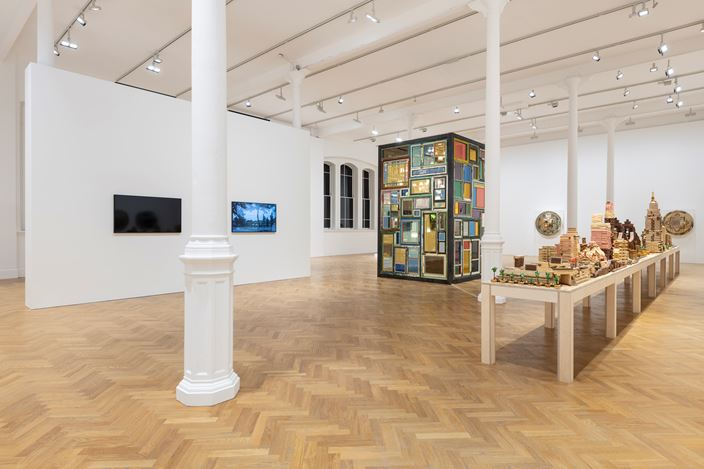 Exhibition view: Song Dong, Same Bed Different Dreams, Pace Gallery, London (1 October–5 November 2019). Courtesy Pace Gallery.