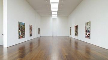 Contemporary art exhibition, Hernan Bas, Memphis Living at Victoria Miro, London