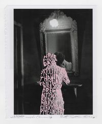 Women Words (Brassaï #9) by Betty Tompkins contemporary artwork painting, works on paper