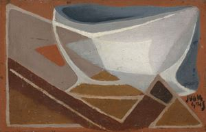 Bol et pipe by Juan Gris contemporary artwork