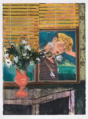 Peeping Thomas by Hernan Bas contemporary artwork