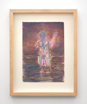 Untitled (Pink Haze) by Seraphine Pick contemporary artwork