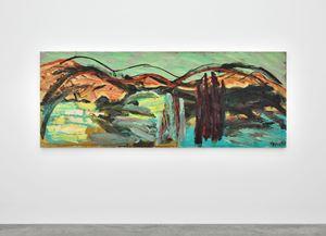 Horizon of Tuscany no.21 by Karel Appel contemporary artwork