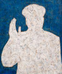 Mao (White) by Xue Song contemporary artwork mixed media