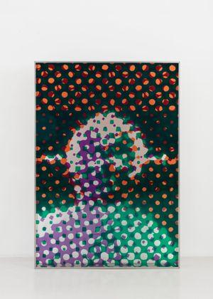 Portrait d'Homme by Alain Jacquet contemporary artwork