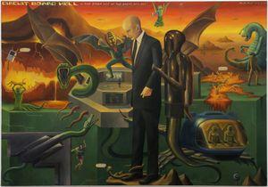 Circuit Board Hell by Matt Hunt contemporary artwork