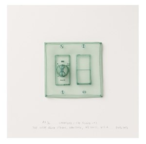 Specimen Series: Corridor/First Floor 1, 348 West 22nd Street, New York, NY 10011, USA by Do Ho Suh contemporary artwork