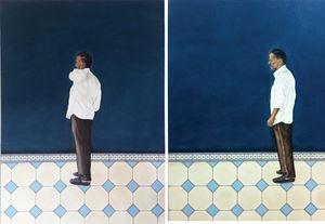 Waiting Looking by Desmond Lazaro contemporary artwork