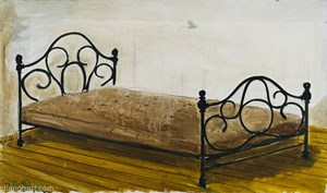 The Bed by Zhang Enli contemporary artwork