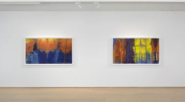 Contemporary art exhibition, Sam Gilliam, Watercolors at Pace Gallery, Geneva