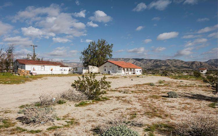 Exhibition view: Richard Prince, Third Place, Desert X, Desert Hot Springs, California (2017). Courtesy Gagosian. Photo: Lance Gerber.
