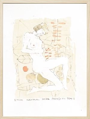 The Neutral Nude Series No. 1 by Tan Seow Wei contemporary artwork