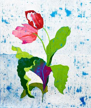 Tulips by GAMA contemporary artwork