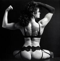 Lisa Lyon by Robert Mapplethorpe contemporary artwork photography