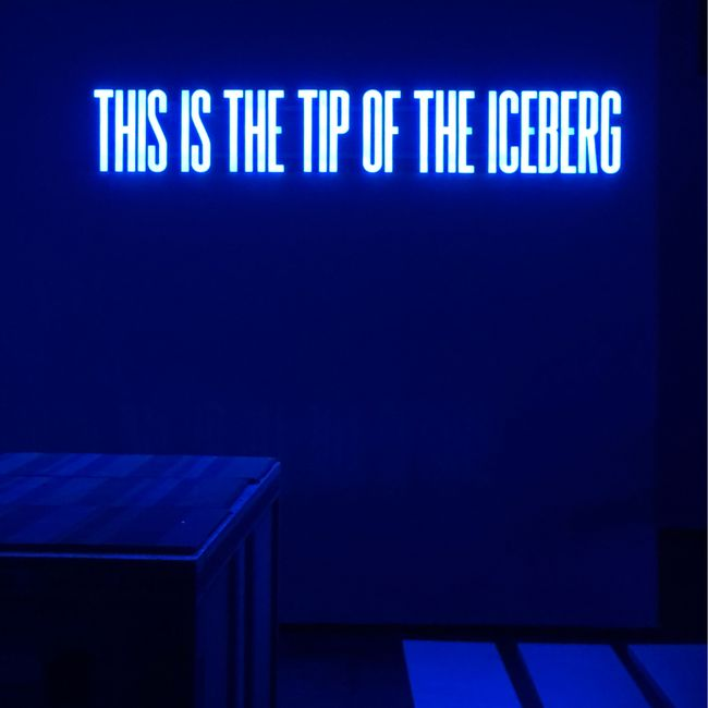 This Is The Tip Of The Iceberg by Superflex contemporary artwork