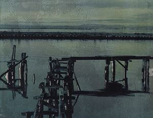 Laguna #22 by Euro Rotelli contemporary artwork