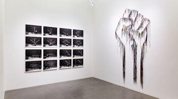 Contemporary art exhibition, Robin Rhode & Nari Ward, Power Wall at Lehmann Maupin, Hong Kong