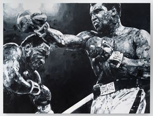 The Greatest by Michael Kagan contemporary artwork