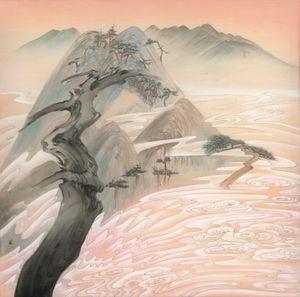 Evergreen Mountains 《青山依舊》 by Luo Ying contemporary artwork