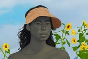 A Midsummer Afternoon Dream by Amy Sherald contemporary artwork 2
