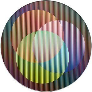 Induccion Circular Antonella 2 by Carlos Cruz-Diez contemporary artwork