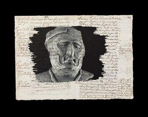 Sin Título - De la Serie Sincretismos by Javier Hinojosa contemporary artwork print