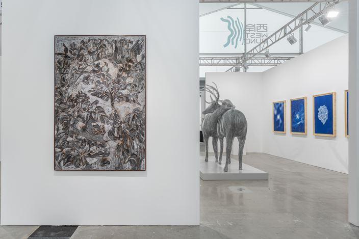 Exhibition view:West Bund Art & Design,Shanghai (7–10 November 2019). Courtesy Galerie Dumonteil.