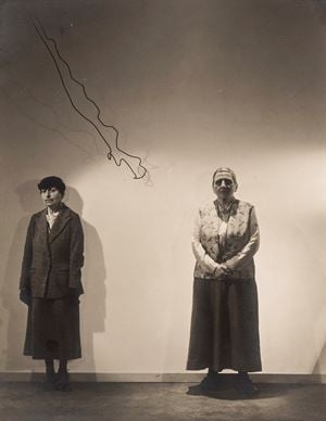 Alice B. Toklas And Gertrude Stein by Cecil Beaton contemporary artwork