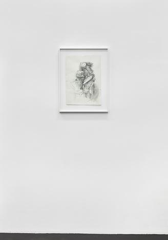 Danica Barboza,  Sculpture study: Study of 'couple's sculpture (2018). Exhibition view: Danica Barboza,Omnia - Mercurial, Interposition,Galerie Buchholz, Cologne (10 April–1 June 2019). Courtesy Galerie Buchholz.