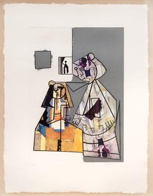 El Cubismo como pretexto VI by Manolo Valdés contemporary artwork