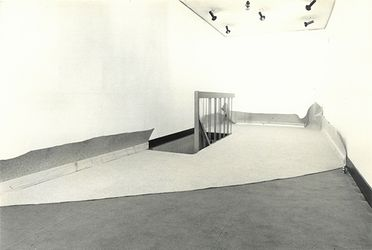 Norio Imai,Limited Space, (1971). Installation View at Walker Gallery (1971). ©Norio Imai. Courtesy of Yumiko Chiba Associates.Photo: Shigeo Anzai.