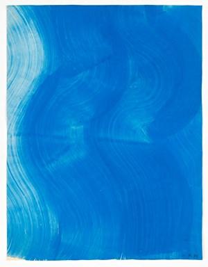 Untitled (Wasserzeichnung / Water drawing) by Heidi Bucher contemporary artwork