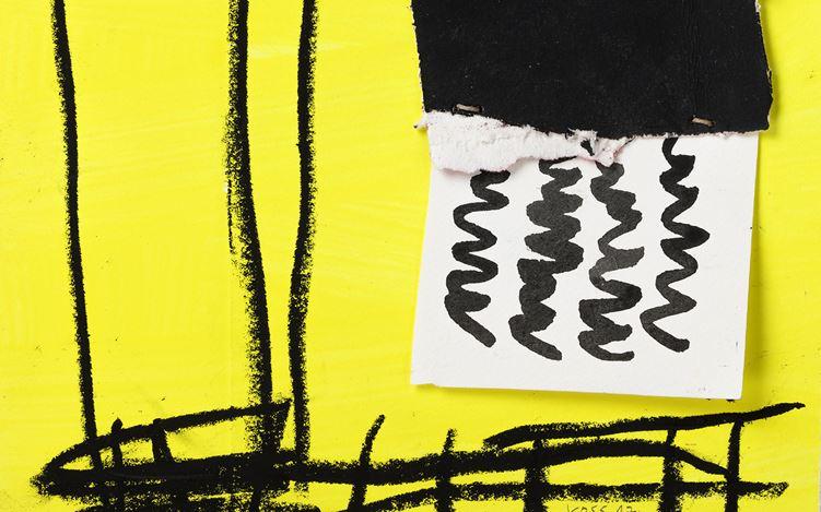 Jan Voss, Averse (detail) (2012). Assemblage. 30 x 22 cm. Courtesy Galerie Lelong & Co, Paris.