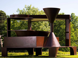 Anthony Caro in Yorkshire review – sculpture that can take your breath away